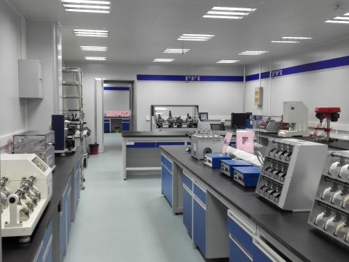 Physical testing laboratory